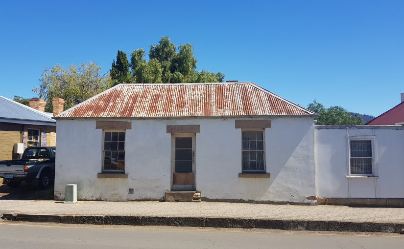 Traditional cottages of Tasmania