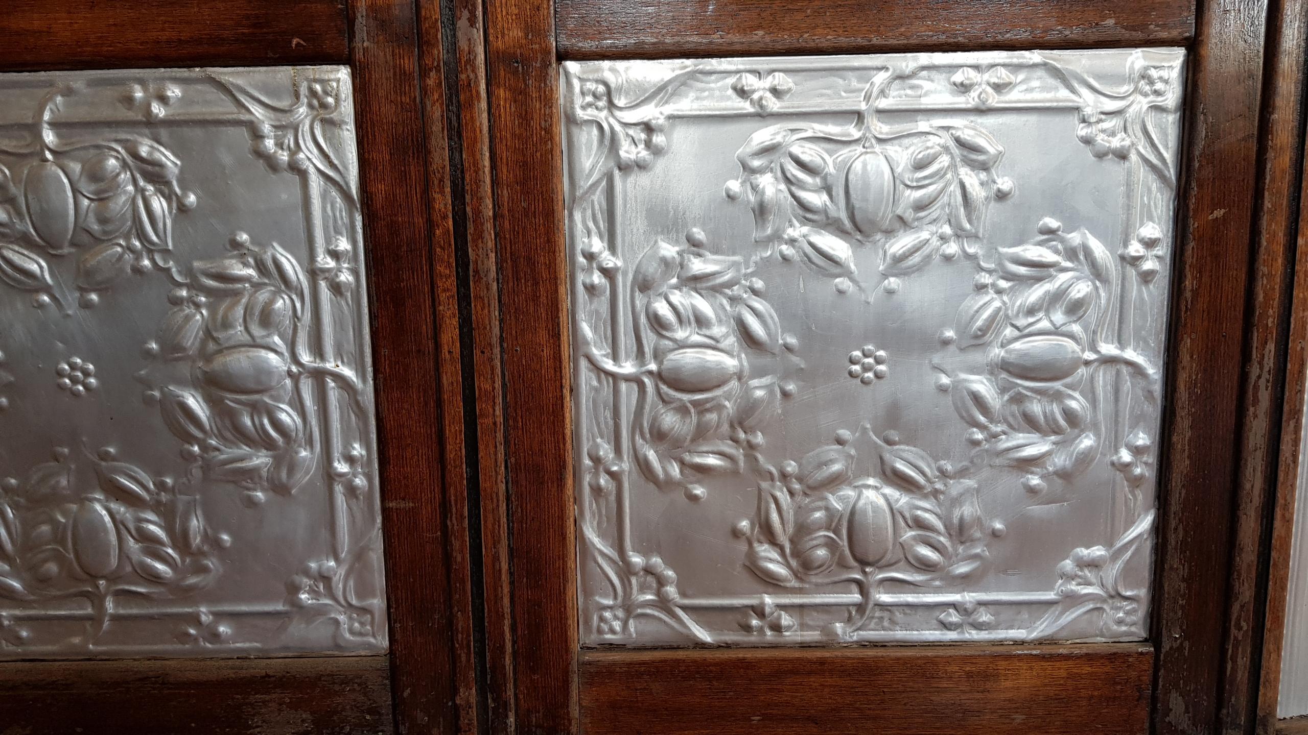 Decorative Pressed Tin Panels We Admired